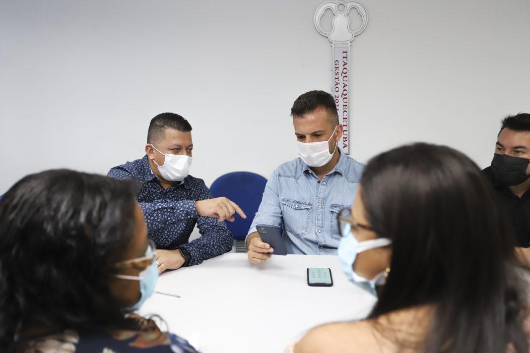 Reunião define detalhes para início da vacinação contra a Covid-19 em Itaquá